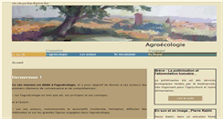 Preview of agroecologie.fr